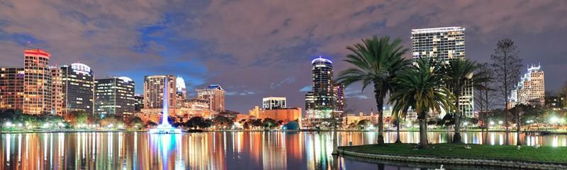 Skyline Cidade de Orlando Florida