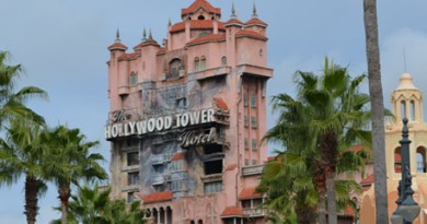 Hollywood Studios Tower of Terror