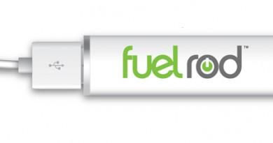 Fuel Rod - Carregador Portátil na Disney