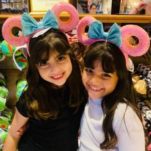 Orelhas Minnie Donuts