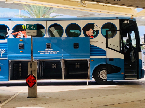 Onibus da Disney Magical Express