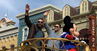 Tom Brady at Magic Kingdom