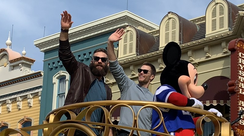 Tom Brady at Magic Kingdom