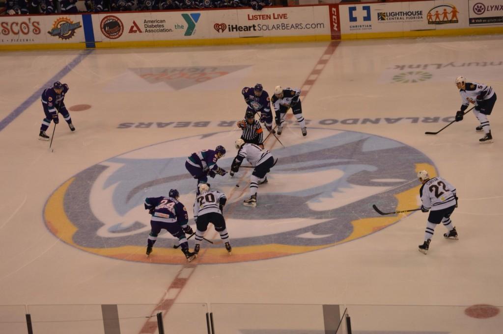 Orlando Solar Bears Jogo de Hockey no Gelo em Orlando