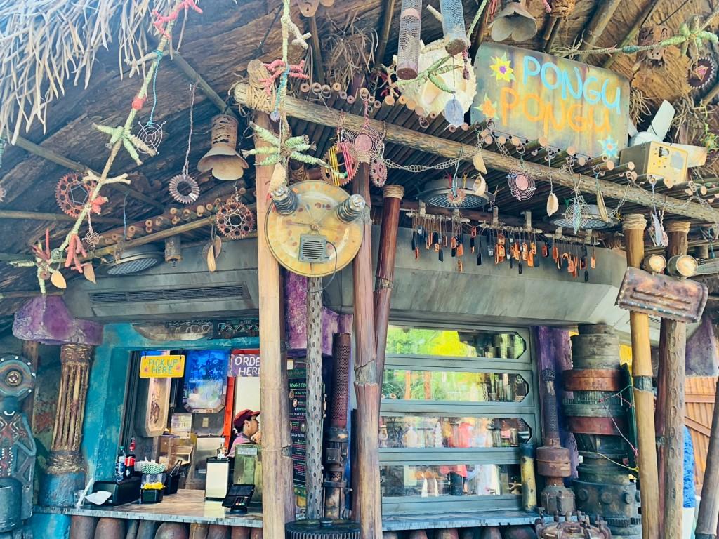 Pongu Pongu Restaurantes no Animal Kingdom