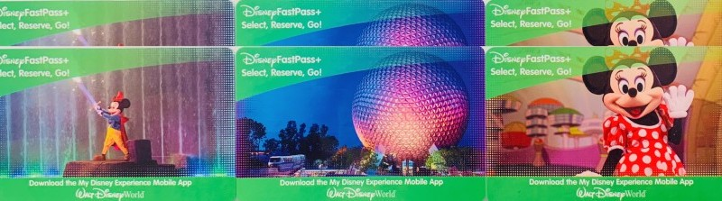Ingressos Disney Cartões Físicos