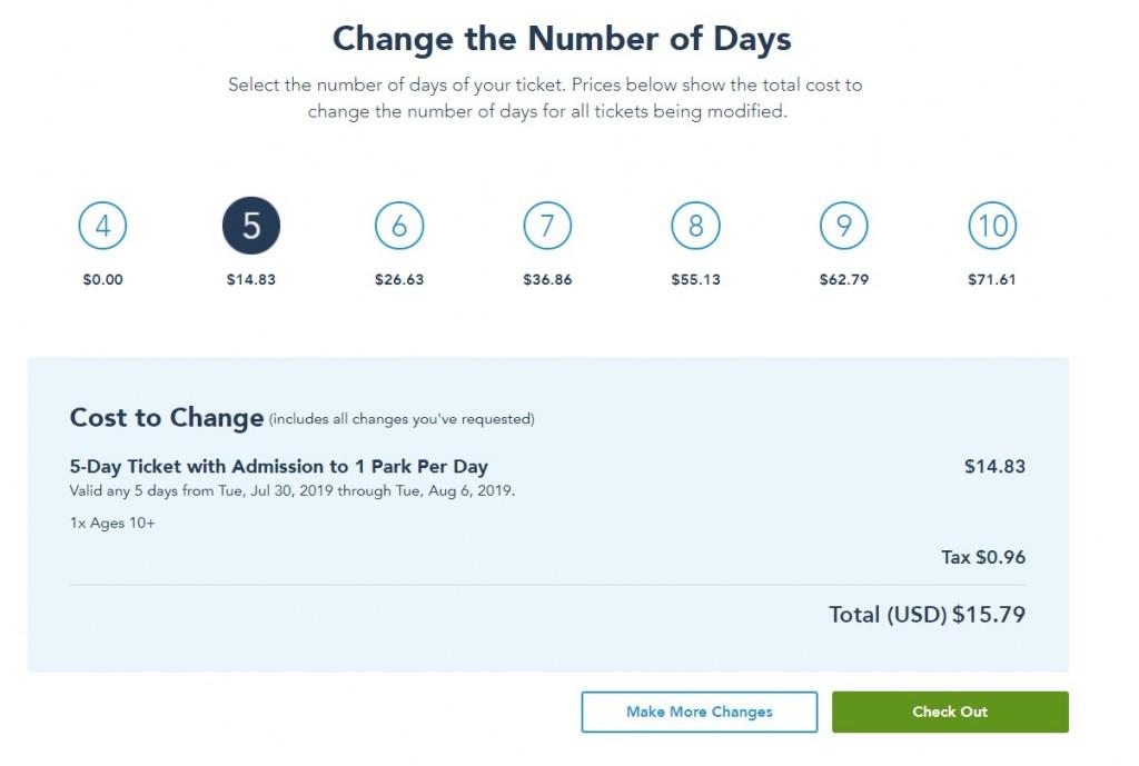 Ingressos Disney Upgrade Aumentar ou Mudar Dias