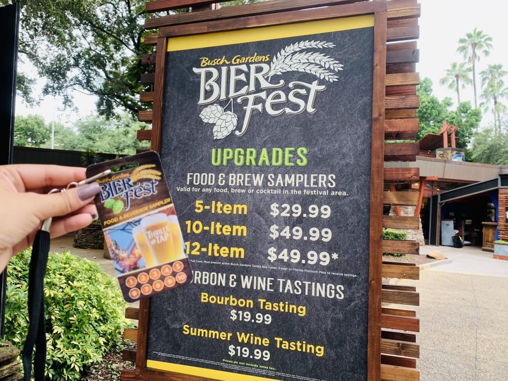 Bier Fest no Busch Gardens