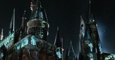Banner Hogwarts Castle