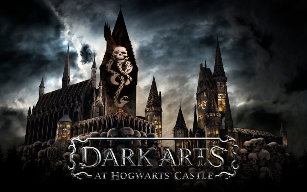 Dark Arts at Hogwarts Castle - Show de Projeções no Islands of Adventure