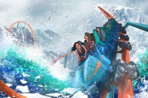 Ice Breaker Montanha Russa Sea World