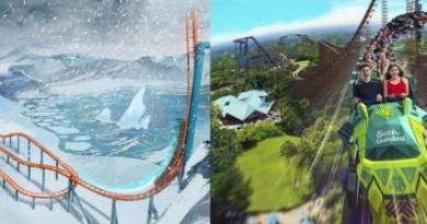 Montanhas Russas SeaWorld e Busch Gardens