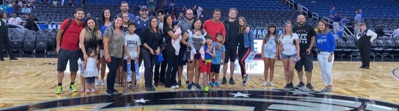 Jogo de NBA em Orlando Experiência na Quadra