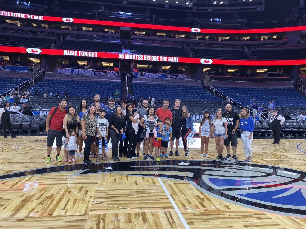 Jogo de NBA em Orlando