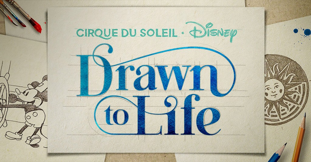 Cirque du Soleil em Orlando Drawn to Life