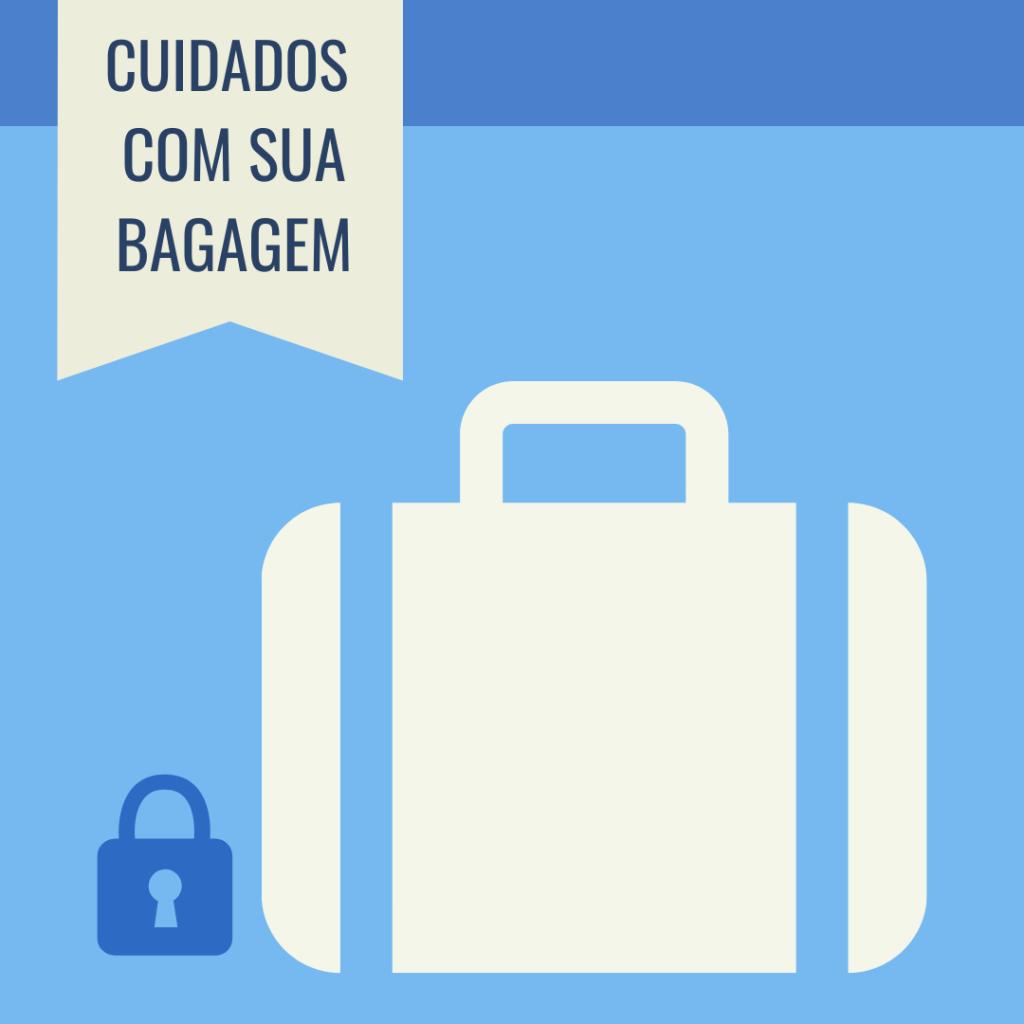 Cuidados com a mala