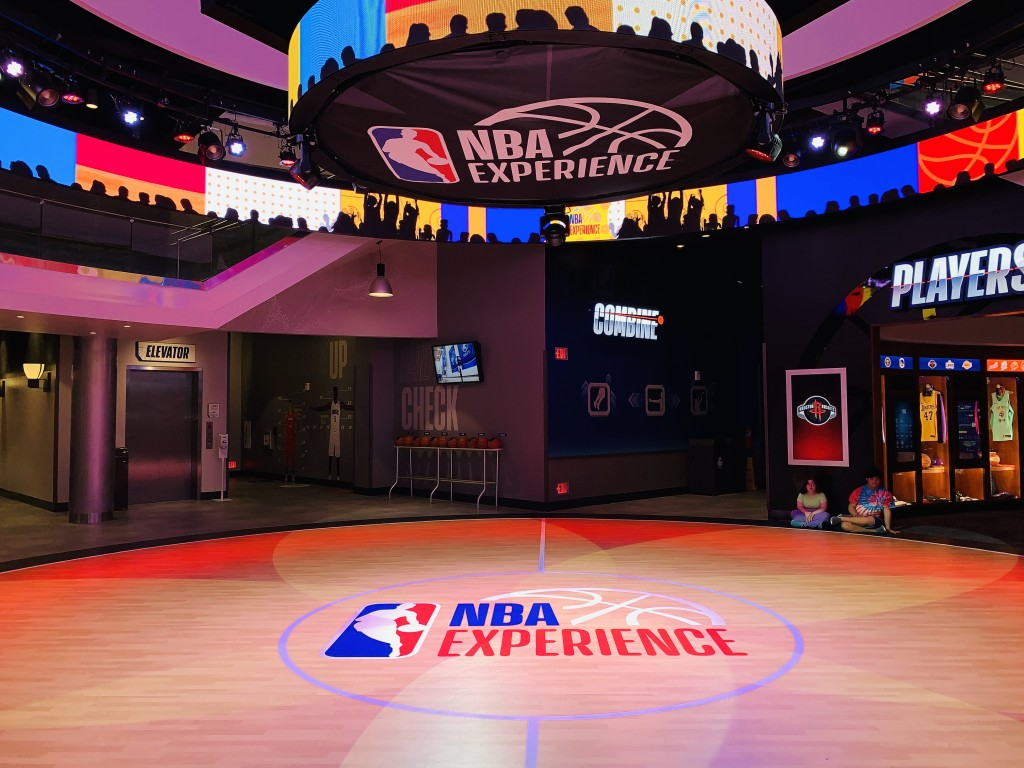 NBA Experience no Disney Springs