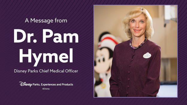 Dr Pamela Hymel - Reabertura Disney